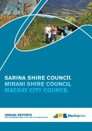 annual reports - Mackay Regional Council - Queensland Government