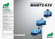 5-axis Vertical Machining Center MAM72-63V MAM72-63V PC2 ...