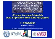 Strongly Correlated Materials from a Dynamical Mean-Field ...