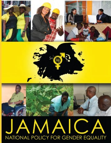 National Policy for Gender Equality - Jamaica Information Service