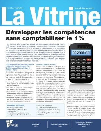 La Vitrine vol. 8, no 4 - Détail Québec