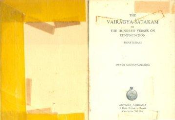 Vairagya Shatakam