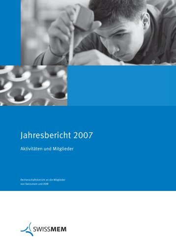 Jahresbericht IH D - Swissmem