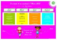 Du lundi 4 au vendredi 8 Mars 2013 - Saint-Fuscien