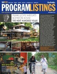 Program Listings - September 2012 - WXXI