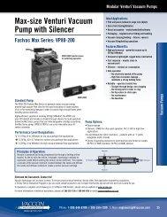 VP80-200 - Vaccon Vacuum Products