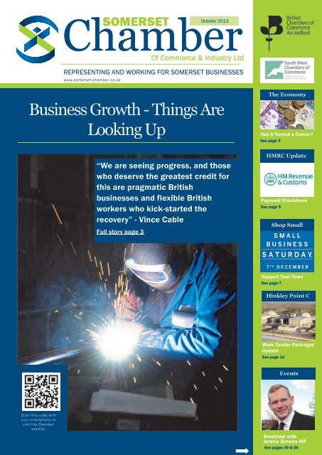 Read the October 2013 Chamber magazine here - Somerset ...