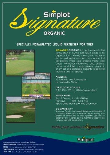 Signature Organic