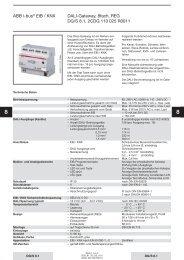 ABB i-bus® EIB / KNX DALI-Gateway, 8fach, REG ... - Eibmarkt.com