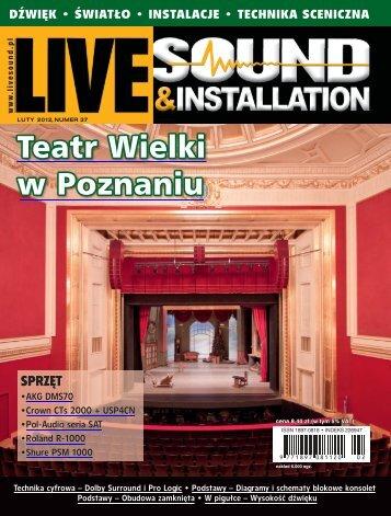Live Sound & Installation 2/2012 - UlubionyKiosk