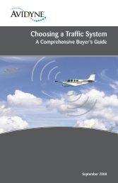 Choosing a Traffic System - Avidyne
