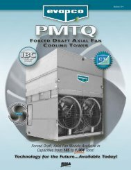 PMTQ Product Bulletin - EVAPCO.com