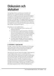 Diskussion och slutsatser - Certec