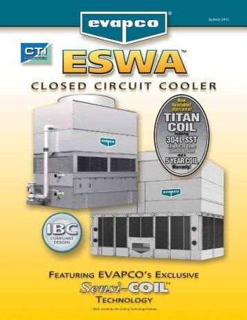 ESWA Catalog 241C:ESWA Catalog 241 final copy - EVAPCO.com