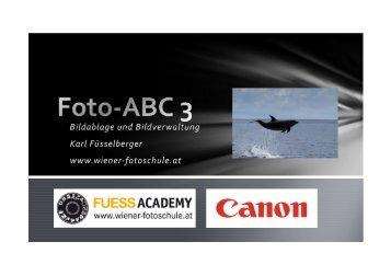 Bildablage und Bildverwaltung Karl Füsselberger www ... - Fuess AV