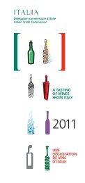 CATALOGUE 2011 - Délégation Commerciale d'Italie