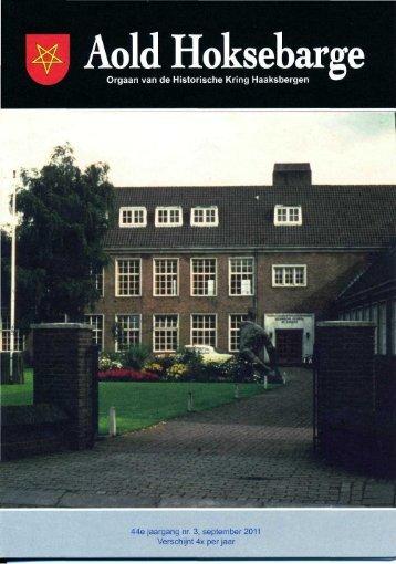 September - Historische Kring Haaksbergen