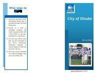 Dinuba's Homebuyer Assistance Program Brochure ... - City of Dinuba