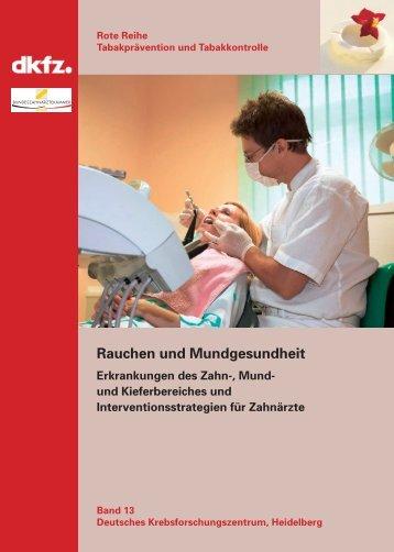 Rauchen und Mundgesundheit - German Cancer Research Center