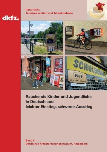 Rauchende Kinder und Jugendliche in Deutschland – leichter ...