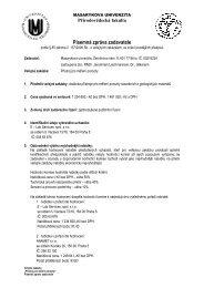 Písemná zpráva zadavatele.pdf - E-ZAK MUNI - Masarykova univerzita