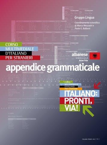 appendice grammaticale - Guerra Edizioni