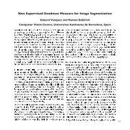 Non Supervised Goodness Measure for Image Segmentation - Create!
