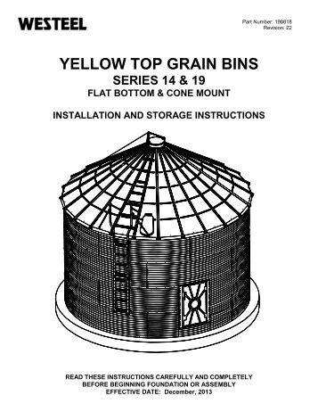mfs grain bin construction manual