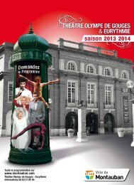 Programmation 2013-2014 - Accueil - Montauban.com