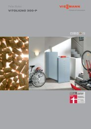 Domestic Heating with Wood - Viessmann
