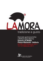 Giornate gastronomiche a Bellaria Igea Marina ... - Turismhotels