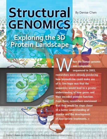 Exploring the 3D Protein Landscape - Biomedical Computation ...