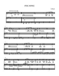 notation (piano acc) - Cape Irish