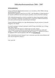 Sikkerhetsbestemmelser kategori 5 - Trondhjems Seilforening