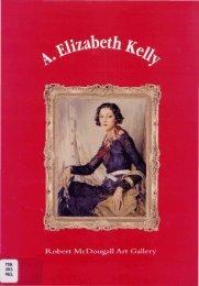 A. Elizabeth Kelly - Christchurch Art Gallery