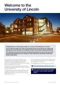 University of Lincoln International Handbook 2013 (PDF) - Page 3