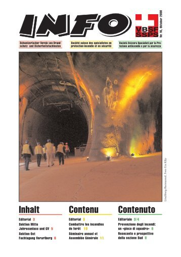 Inhalt Contenu Contenuto - VBSF