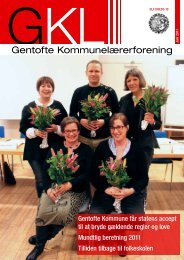 Gentofte Kommunelærerforening N