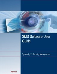 SMS Software User Guide - G4S Technology