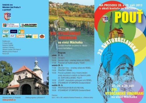 program pouti 2013 - Praha 9