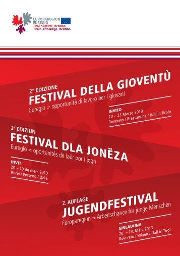 Programm - Europaregion | Tirol Südtirol Trentino