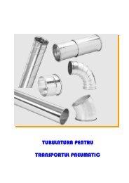 Avantajele unui sistem de tubulatura de transport pneumatic