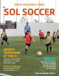 Soccer Magazine - YMCA of Orange County