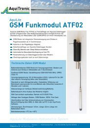 GSM Modul - Aquitronic