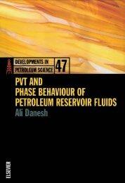 pvt and phase behaviour of petroleum reservoir fluids