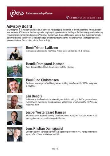Advisory Board - Idea