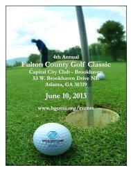 Fulton County Golf Classic June 10, 2013 - Boys & Girls Clubs of ...