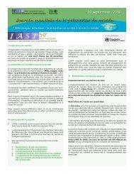 Association internationale pour la prévention du suicide L ...