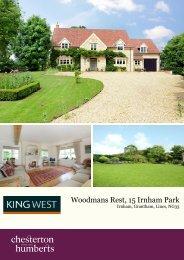 Woodmans Rest, 15 Irnham Park