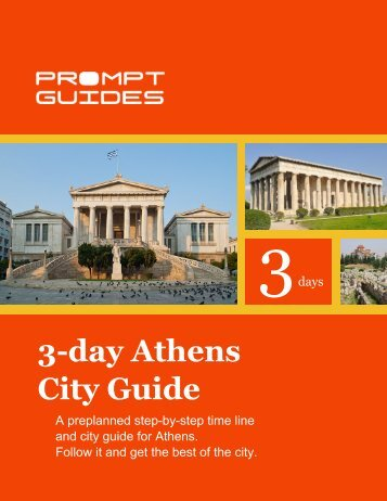3-day Athens City Guide - Prompt Guides